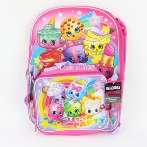 Shopkins 16 in. Backpack with Lunch Kit